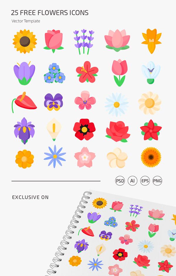 Free Spring Icon Set - 25 Icons