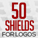 Post thumbnail of Free 50 Shields For Badges and Logos (PSD)