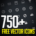 Post thumbnail of 750+ Free Vector Icons for Web, iOS and Android UI Design