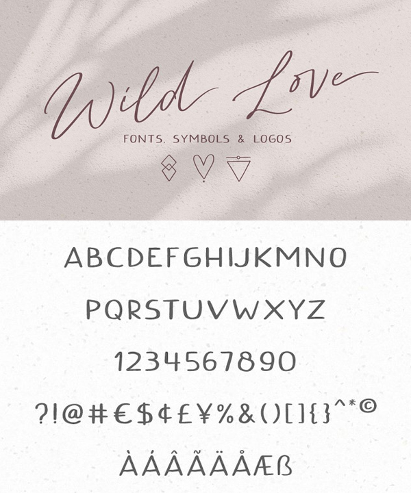 Wild Love Fonts
