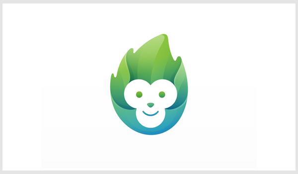 Monkey Logo Design by Yoga Perdana