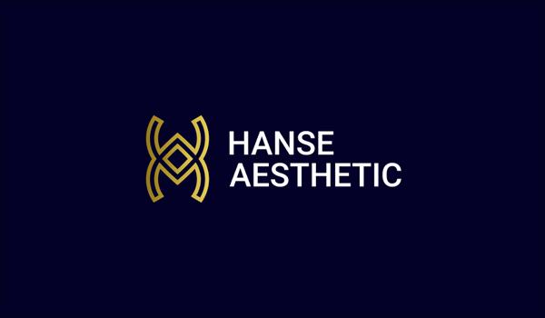 Hanse Aesthetic Logo Monogram Design by Abdul Gaffar