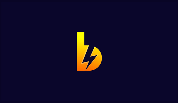Modern power logo - Battery.io logo by Rony Pa