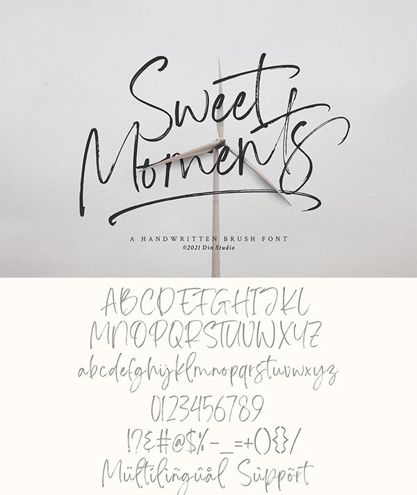 Sweet Moments Font