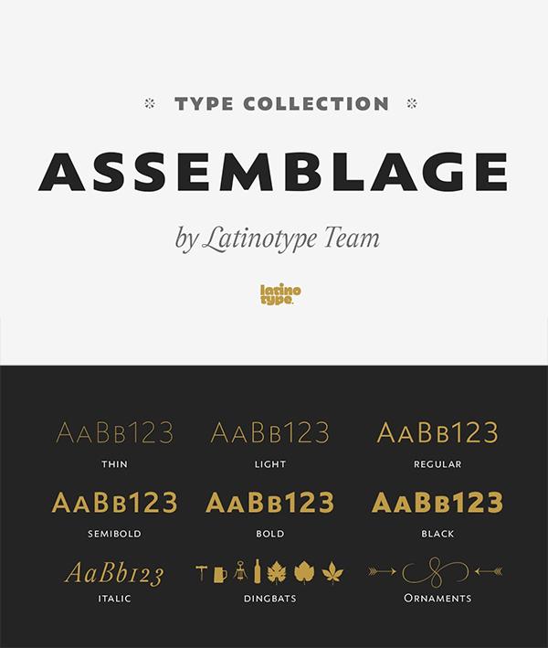 Best Assemblage Font