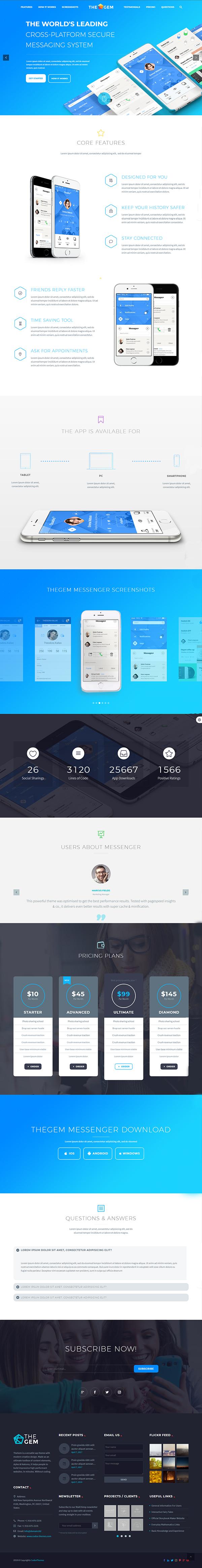 Creative Multi-Purpose High-Performance WordPress Theme
