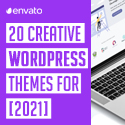 Post thumbnail of WordPress Themes: Modern & Creative Themes