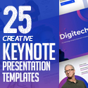 Post thumbnail of 25 Creative Keynote Presentation Templates