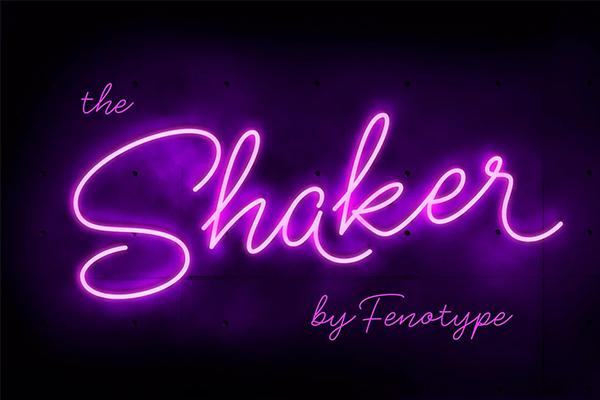 Shaker Script Font