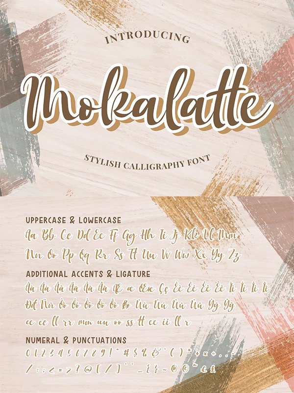 Mokalatte - Stylish Calligraphy