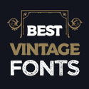 Post thumbnail of 21 Best Vintage Fonts 2021