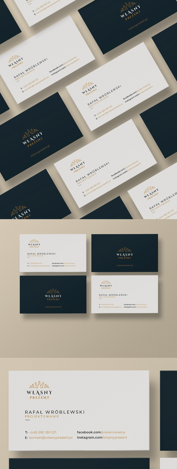 Free Download Business cards Stationery mockup