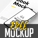 Post thumbnail of Free PSD Mockups: 28 New MockUp Templates