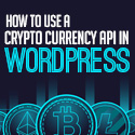 Post thumbnail of How To Use a Crypto Currency API In WordPress
