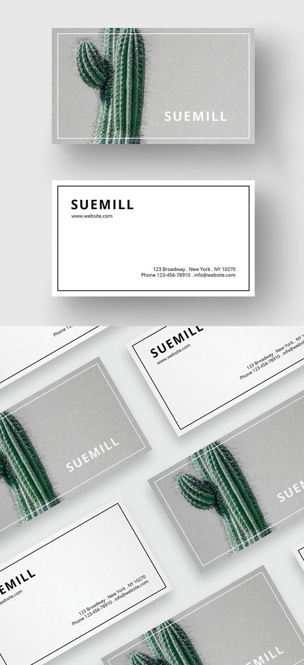 Business Card Minimal Design