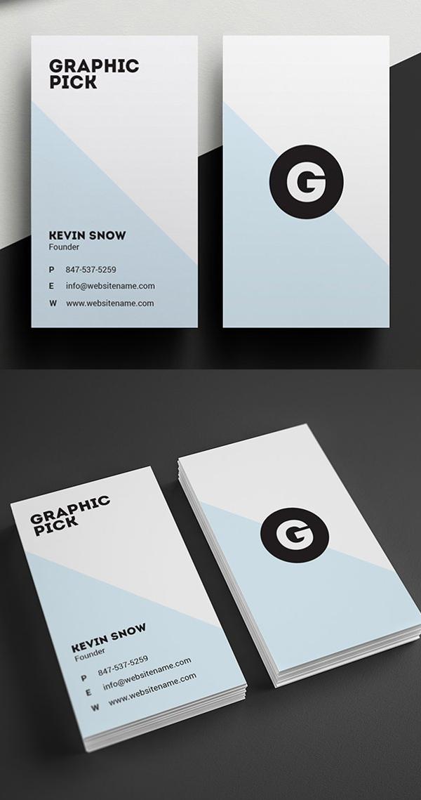 Minimal Business Card Desgin