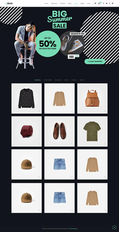 Avo - Creative Portfolio & Agency WordPress Theme