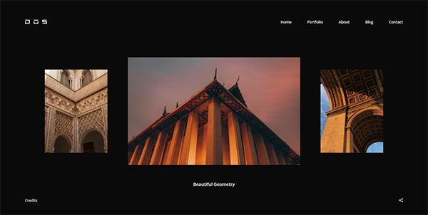 Dos - Creative Photography WordPress Theme