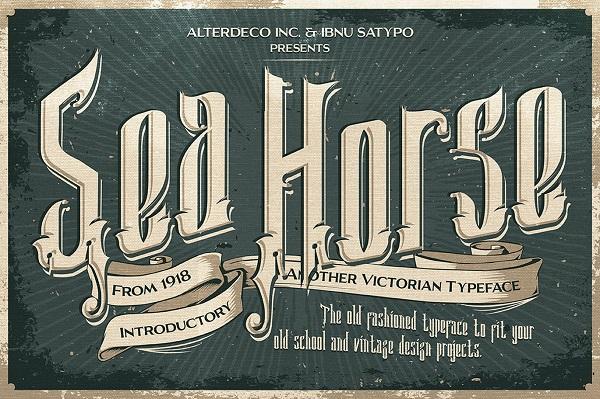 Sea Horse Font