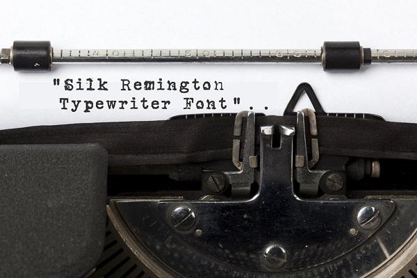 Silk Remington Font