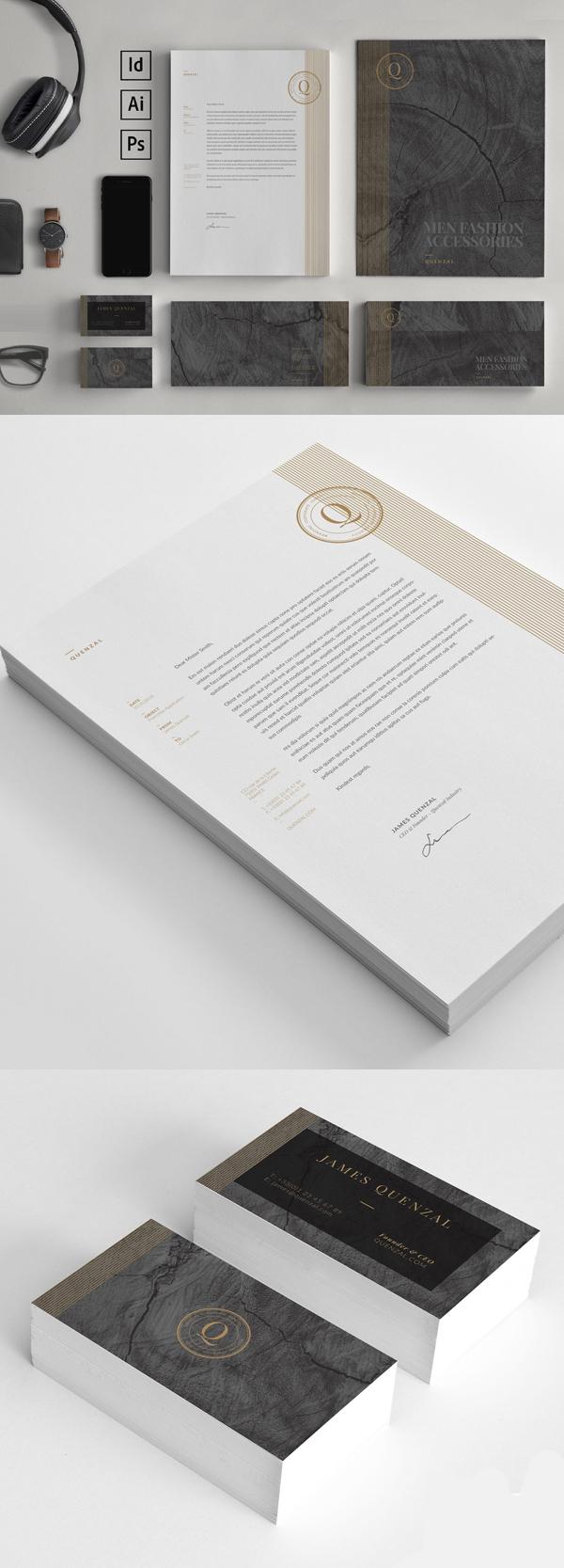 50 Professional Corporate Branding / Stationery Templates Design - 3