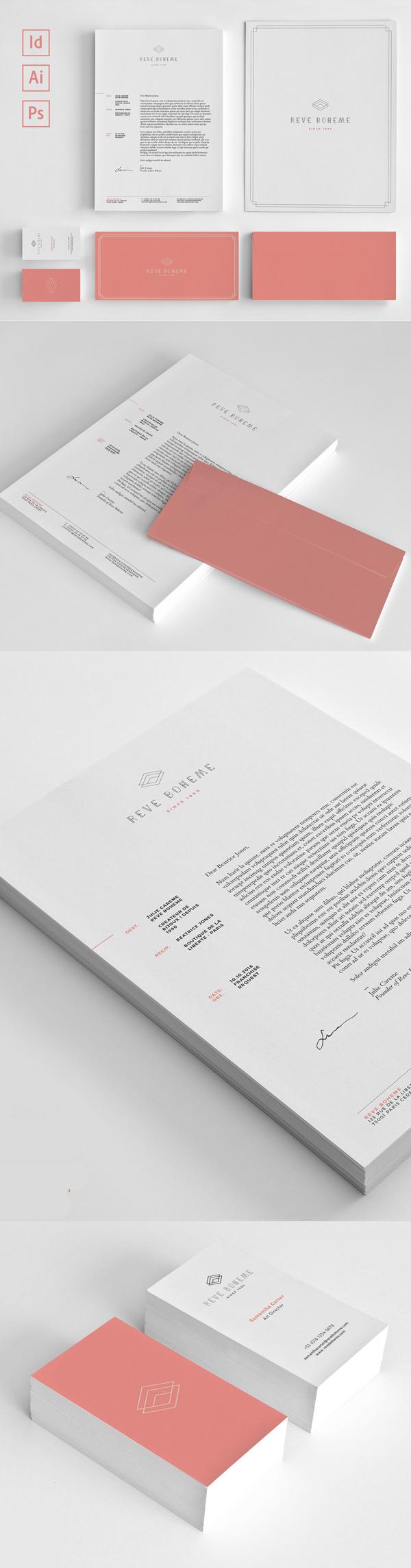 50 Professional Corporate Branding / Stationery Templates Design - 4