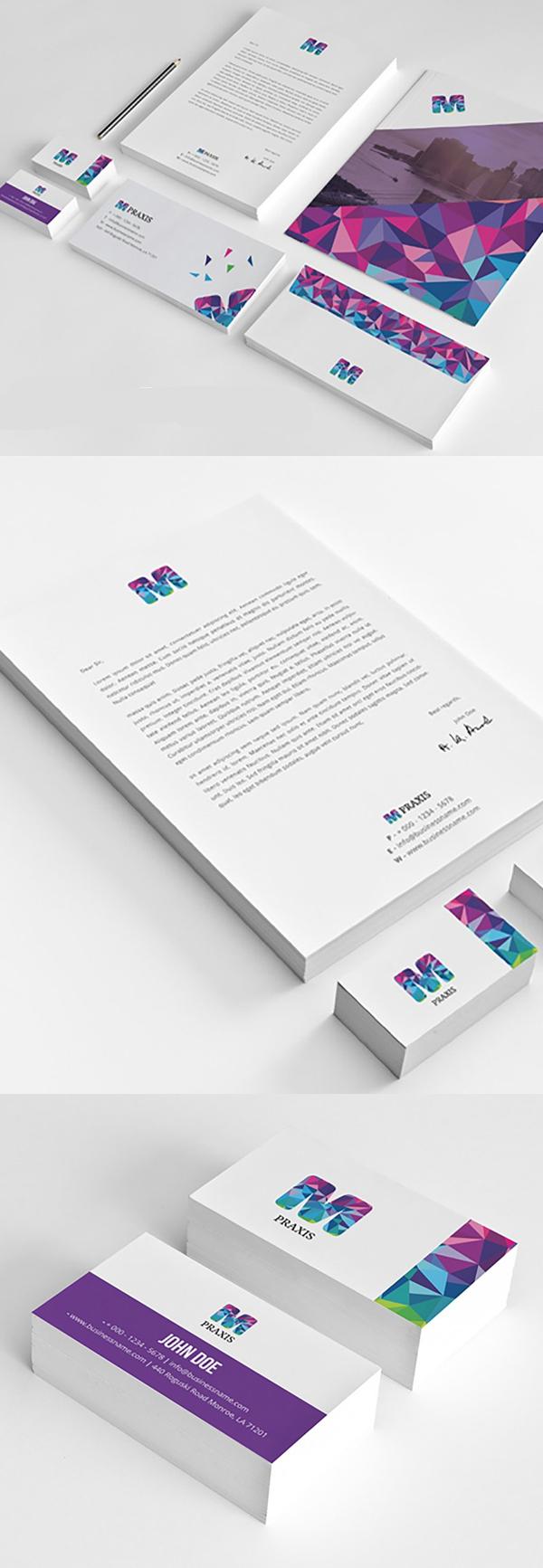 50 Professional Corporate Branding / Stationery Templates Design - 6