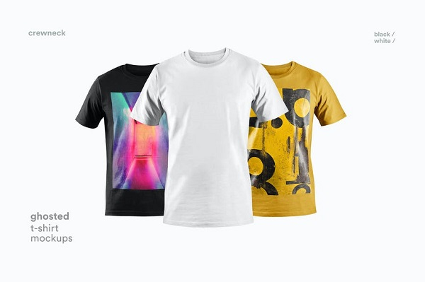 T-shirt Mockup Font