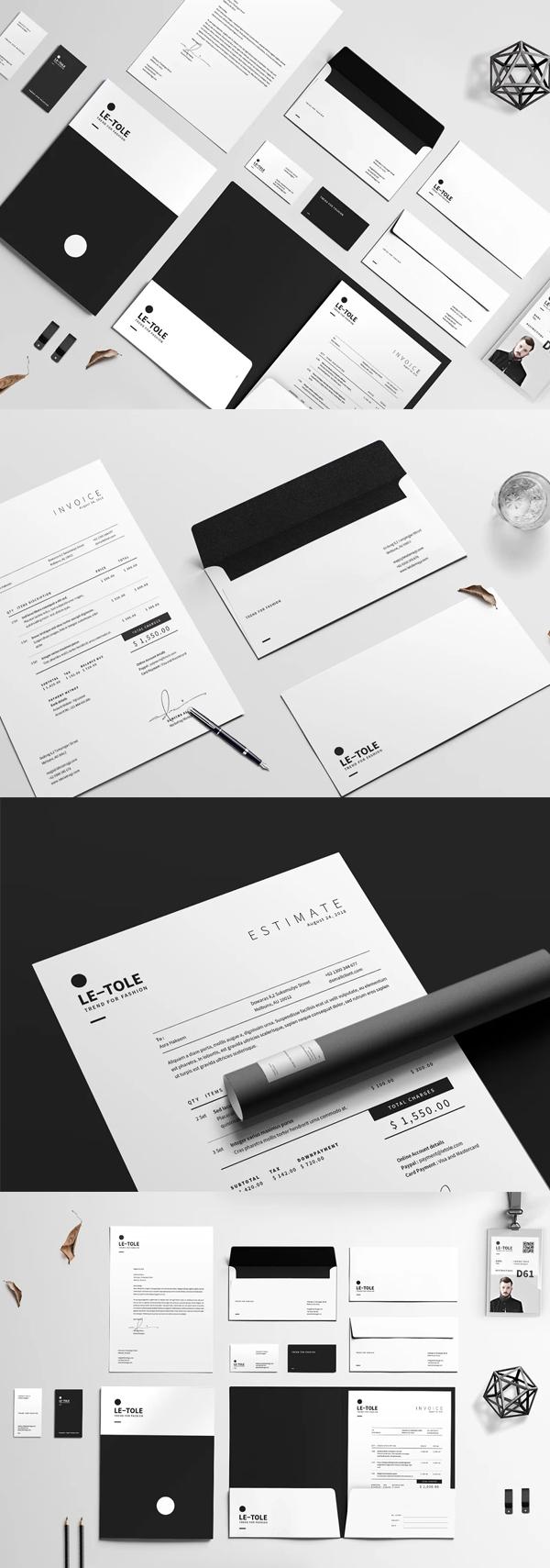 Corporate Identity Stationery Items