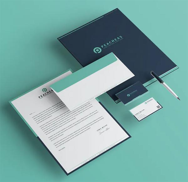Elegant Branding Identity & Stationery Pack