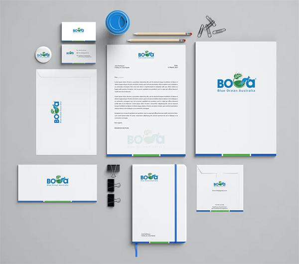 Boca Branding Identity & Stationery Pack