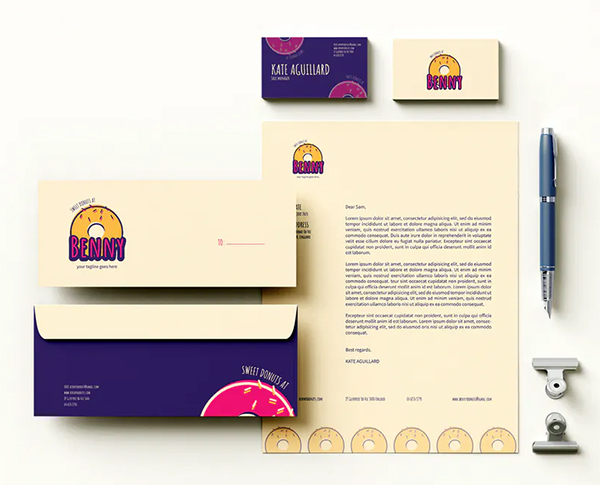 Cake Branding Identity & Stationery Pack