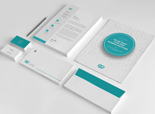 Simple Branding Stationery Pack