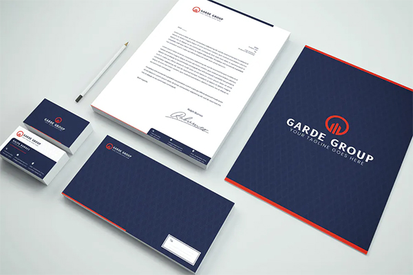 Package Branding Identity & Stationery