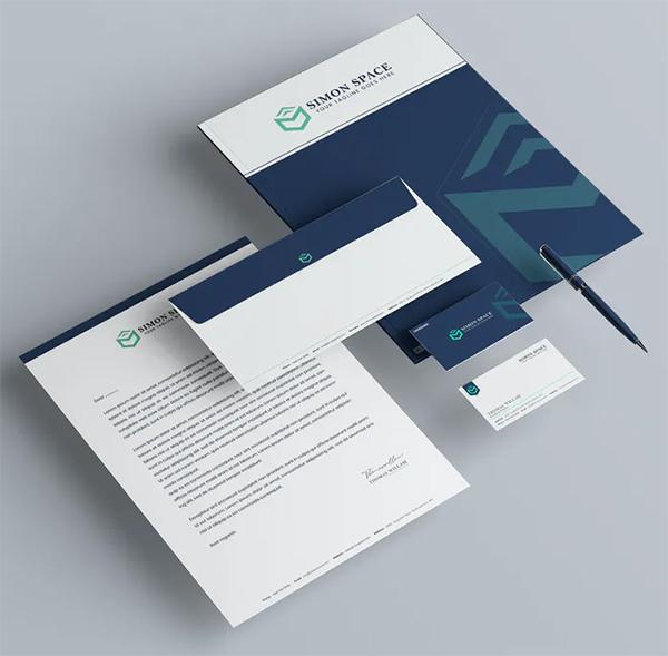 Company Branding Identity & Stationery Pack