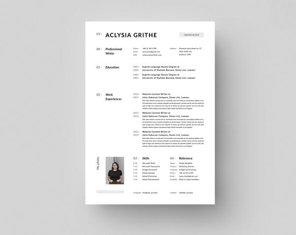 CV Font