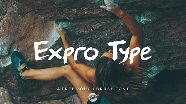 Expro Type Free Font