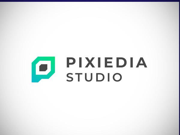 P letter | Pixel logo concept by Unico Free Font