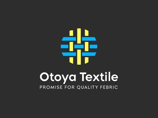 Textile fabric logo design by Tajulislam12 Free Font