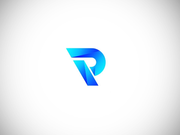 Logo with the initials letter P by Nezamur Rahman Free Font
