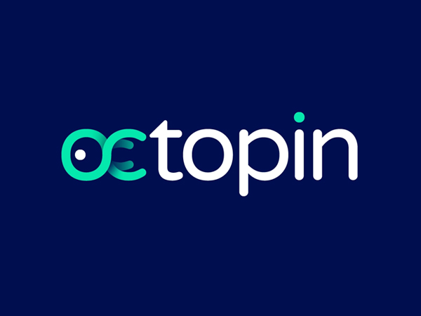 OctoPin Logo Design Concept by Gedas Meskunas Free Font