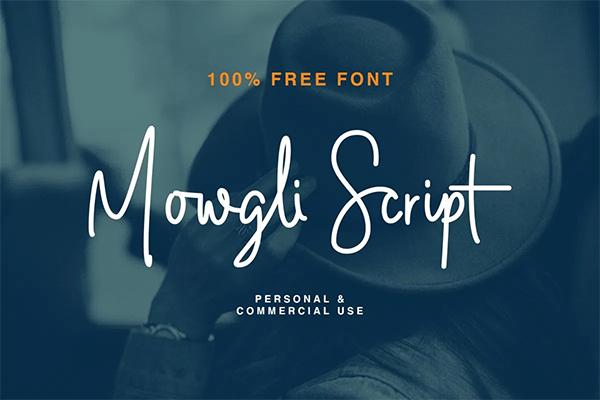 Mowgli Free Script Font