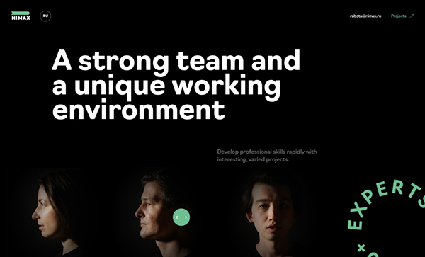 Award Winning Website Design Examples 2021 - 14