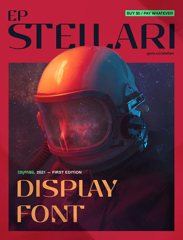 EP Stellari Free Font