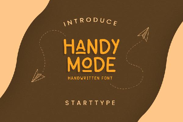 Handy Mode Handwritten Free Font