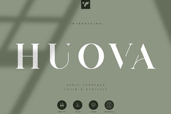 Huova Serif Free Font