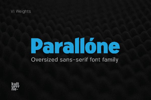 Parallone Sans Free Font