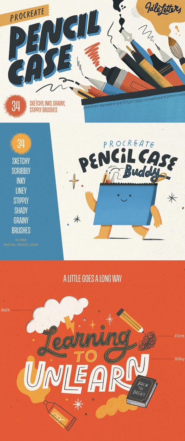 Procreate Pencil Case