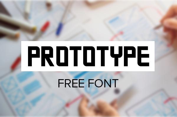 Prototype Free Font