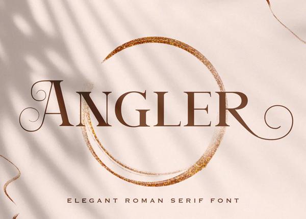 Angler - Roman Serif Font